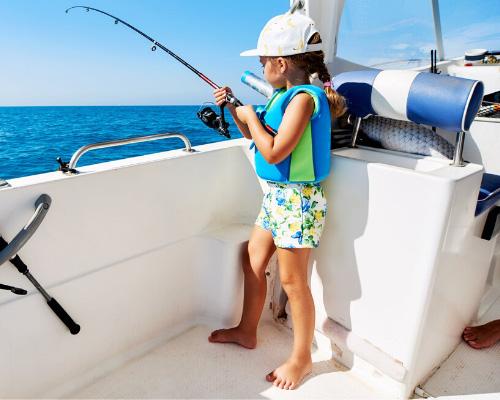 Рыбалка в море на яхтах
