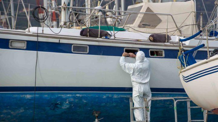 ремонт корпуса водного транспорта из пластика