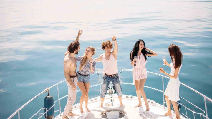 Вечеринки на яхтах в море