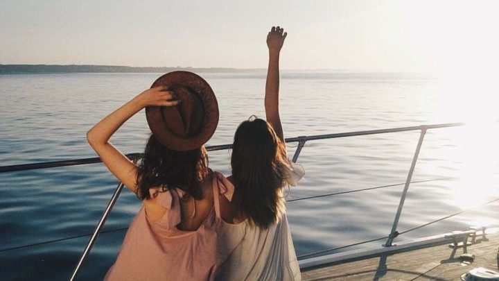 Закаты на яхте в Сочи